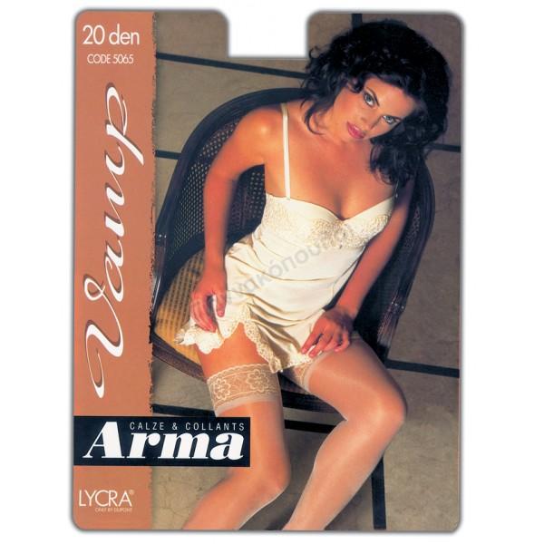 Κάλτσα με σιλικόνη γυναικεία ARMA 20den Κάλτσες, καλτσάκια