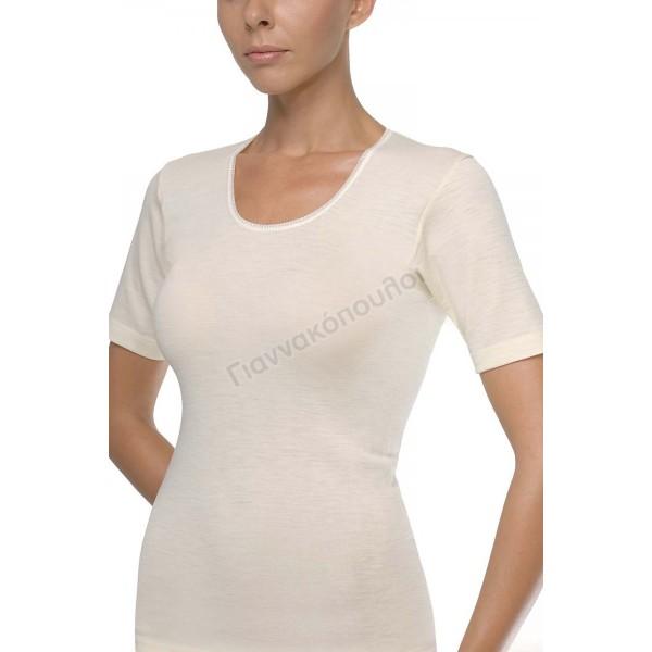 Γυναικειες Φανελες - Φανέλα γυναικεία ΗΛΙΟΣ μάλλινη  Φανέλες, μπλούζες