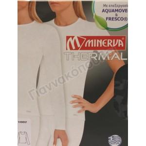 Μπλούζα γυναικεία Thermal Μινέρβα μακρύ μανίκι