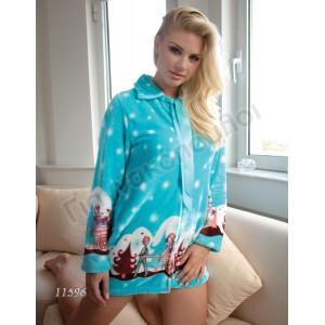 Ρόμπα γυναικεία Lydia φλίς μίνι Πυζάμες, νυχτικά, ρόμπες