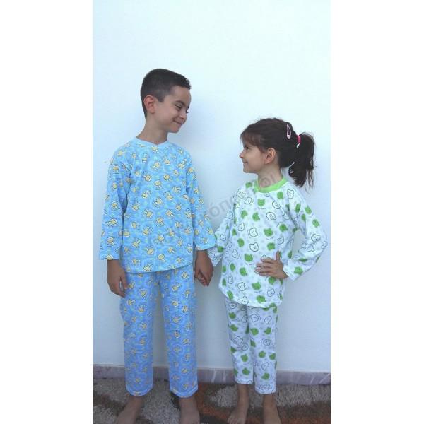 Πυζαμάκι εμπριμέ βαμβακερό Πυζάμες, φόρμες, σετ