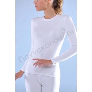 Γυναικειες Φανελες - Μπλούζα γυναικεία Thermal Ήλιος μακρύ μανίκι Φανέλες, μπλούζες