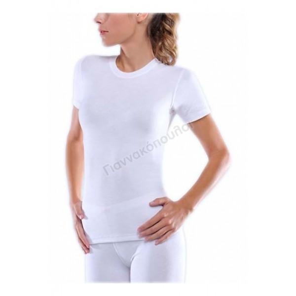 Μπλούζα γυναικεία Thermal Ήλιος κοντό μανίκι Φανέλες, μπλούζες