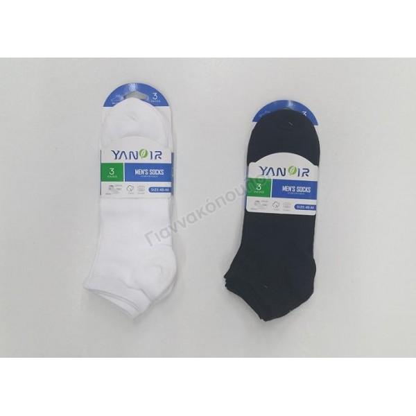 Κάλτσα ανδρική μίνι sport 3άδα Κάλτσες