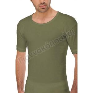 Φανέλα ανδρική ανοιχτός λαιμός ΗΛΙΟΣ βαμβακερή  Φανέλες, μπλούζες