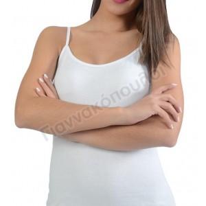 Φανέλα γυναικεία τιράντα  βαμβακερή