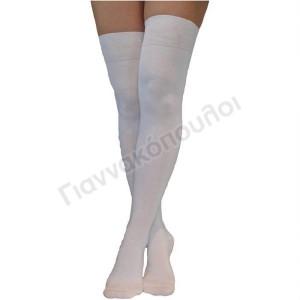 Κάλτσα ανδρική πάνω από το γόνατο βαμβακερή 42-47