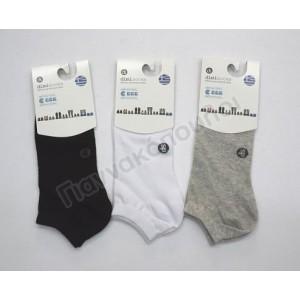 Ανδρικες Καλτσες - Κάλτσα ανδρική μίνι sport invisible βαμβακερή one size Κάλτσες