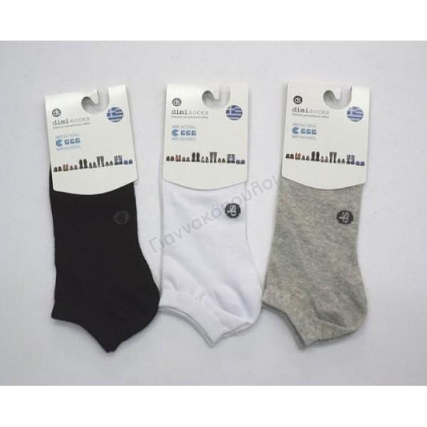 Κάλτσα ανδρική μίνι sport invisible βαμβακερή one size