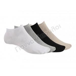Κάλτσα ανδρική μίνι sport invisible βαμβακερή 3άδα