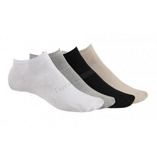 Κάλτσα ανδρική μίνι sport invisible βαμβακερή 3άδα Κάλτσες