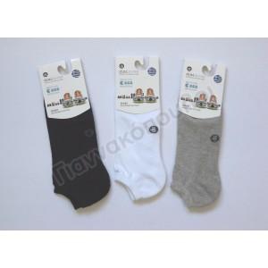 Κάλτσα ανδρική μίνι sport πετσετέ βαμβακερή one size