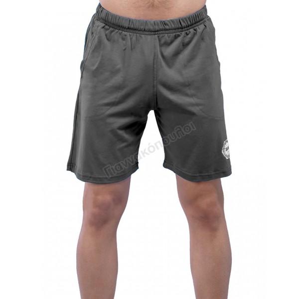Βερμούδα ανδρική μακό ανθρακί Φόρμες, βερμούδες, t-shirt