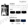Boxer ανδρικό byblos μαύρο 3άδα Σλίπ, μπόξερ, σκελέες
