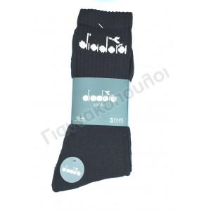 Κάλτσα ανδρική βαμβακερή αθλητική diadora 3άδα