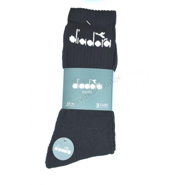 Κάλτσα ανδρική βαμβακερή αθλητική diadora 3άδα Κάλτσες