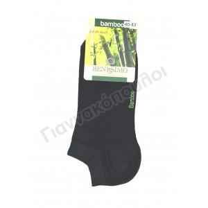 Κάλτσα ανδρική μίνι sport BENISSIMO bamboo