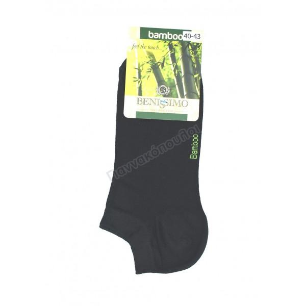 Κάλτσα ανδρική μίνι sport BENISSIMO bamboo Κάλτσες