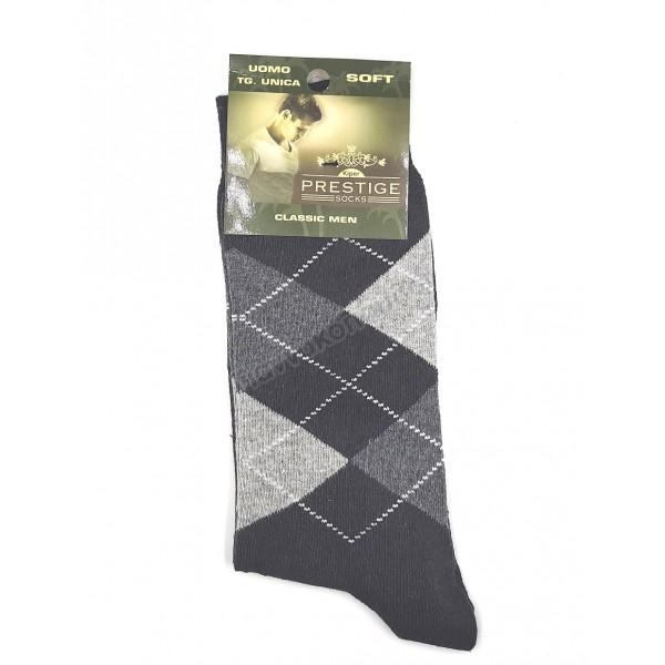 Κάλτσα ανδρική βαμβακερή καρό Κάλτσες