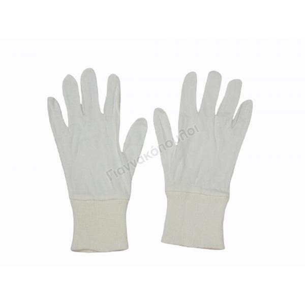 Γάντια βαμβακερά με λάστιχο one size Γάντια, σκουφιά, κασκόλ,καπέλα