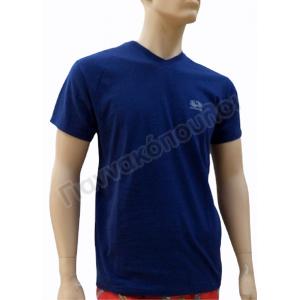 t-shirt ανδρικό Fruit of the Loom τύπου V με σήμα 61-066-0 Outlet
