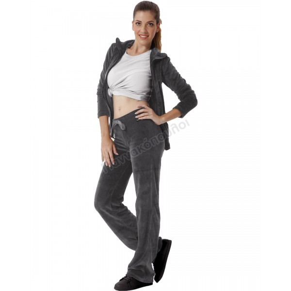 Σέτ φόρμα βελούδο γυναικεία Φόρμες, βερμούδες, κολάν, t shirt