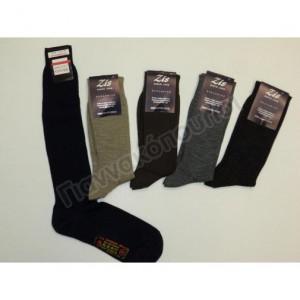 Κάλτσα ανδρική μέχρι το γόνατο μάλλινη Ισοθερμικά, μάλλινα