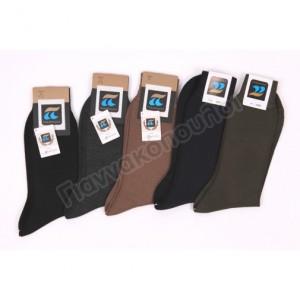 Κάλτσα ανδρική ΠΟΥΡΝΑΡΑ μάλλινη οδ158 Ισοθερμικά, μάλλινα