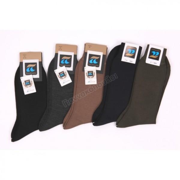 Ανδρικες Καλτσες - Κάλτσα ανδρική ΠΟΥΡΝΑΡΑ μάλλινη οδ158 Ισοθερμικά, μάλλινα
