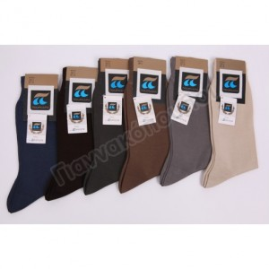 Κάλτσα ανδρική ΠΟΥΡΝΑΡΑ μερσεριζέ βαμβακερή οδ110