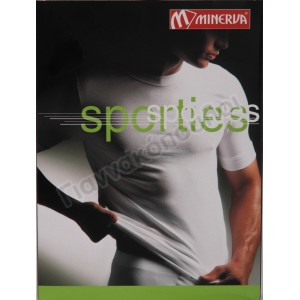 Μπλούζα ανδρική ΜΙΝΕΡΒΑ sporties βαμβακόλυκρα Φανέλες, μπλούζες